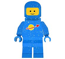 Lego Space Minifigure Photographic Print