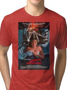 A Nightmare On Elm Street - Original Poster 1984 Tri-blend T-Shirt
