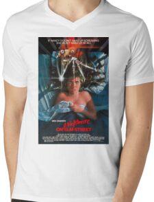 A Nightmare On Elm Street - Original Poster 1984 Mens V-Neck T-Shirt