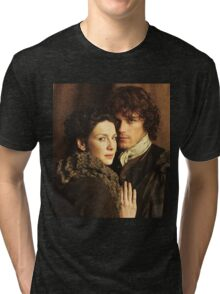 Claire and Jamie Tri-blend T-Shirt