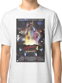 A Nightmare on Elm Street Part 4 (The Dream Master) - Original Poster 1988 Classic T-Shirt