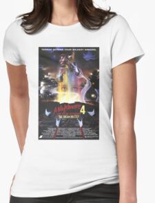 A Nightmare on Elm Street Part 4 (The Dream Master) - Original Poster 1988 Womens Fitted T-Shirt