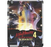 A Nightmare on Elm Street Part 4 (The Dream Master) - Original Poster 1988 iPad Case/Skin