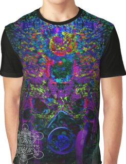 Psychedelic Rave Face.02 Graphic T-Shirt