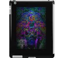 Psychedelic Rave Face.02 iPad Case/Skin
