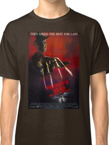 A Nightmare On Elm Street Part 6 (Freddy's Dead: The Final Nightmare) - Original Poster 1991 Classic T-Shirt
