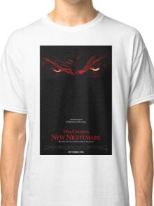 A Nightmare On Elm Street Part 7 (Wes Craven's New Nightmare) - Original Poster 1994 Classic T-Shirt