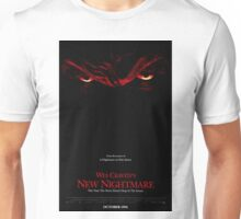 A Nightmare On Elm Street Part 7 (Wes Craven's New Nightmare) - Original Poster 1994 Unisex T-Shirt