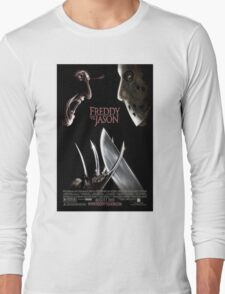 Freddy vs. Jason - Original Poster 2003 Long Sleeve T-Shirt