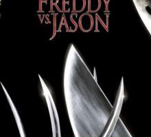Freddy vs. Jason - Original Poster 2003 Sticker
