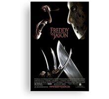 Freddy vs. Jason - Original Poster 2003 Canvas Print