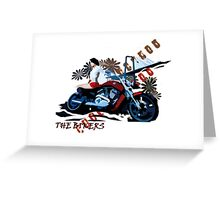 Bikers Greeting Card