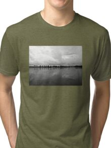 Clouds over paradise Tri-blend T-Shirt