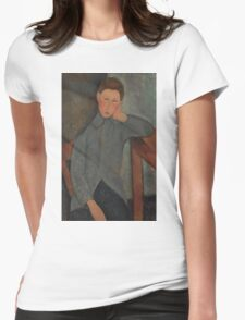 Amedeo Modigliani - The Boy 1919 Womens Fitted T-Shirt
