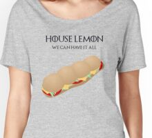 House Lemon Women's Relaxed Fit T-Shirt
