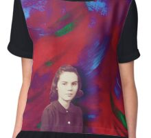 Enter the Whirlwind Chiffon Top