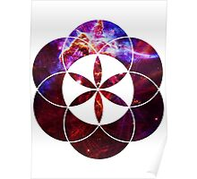 Mystic Carina | Sacred Geometry Flower of Life Poster