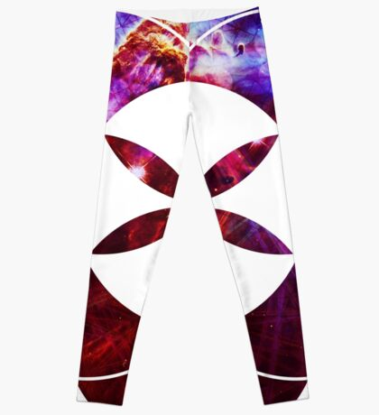Mystic Carina   Sacred Geometry Flower of Life Leggings