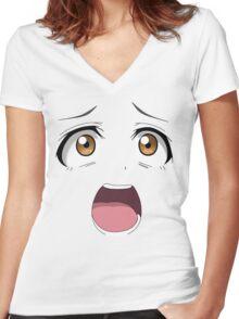 Umi Sonoda Women's Fitted V-Neck T-Shirt