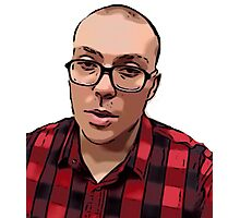 Anthony Fantano The Internet's Busiest Music Nerd Photographic Print
