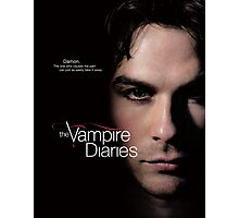 Damon Quotes The Vampire Diaries Photographic Print