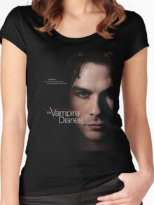 Damon Quotes The Vampire Diaries Women's Fitted Scoop T-Shirt