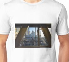 15 March 2016. Photography of street with skyscrapers from Dubai, United Arab Emirates. Unisex T-Shirt