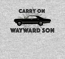 Carry on Wayward Son  Womens Fitted T-Shirt