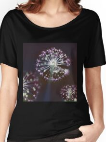 Floral Fireworks Women's Relaxed Fit T-Shirt