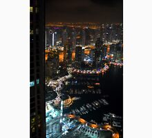 15 March 2016. Photography of skyscrapers from Dubai at night, United Arab Emirates. Unisex T-Shirt