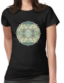 Herbal tea - Voronoi Womens Fitted T-Shirt