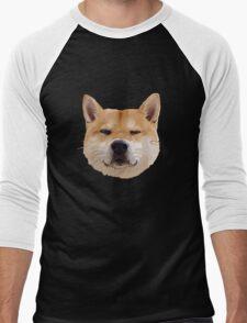 Hachiko Dog Men's Baseball ¾ T-Shirt