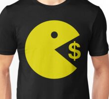 Pacman Pac Man Eating Money - Manny Pacquiao Boxer Unisex T-Shirt