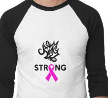 Breast Cancer Awareness Men's Baseball ¾ T-Shirt