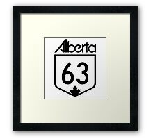 Alberta - Fort Mac Strong Framed Print