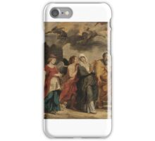 WILLEM VAN HERP THE ELDER  THE FLIGHT OF LOT AND HIS FAMILY FROM SODOM iPhone Case/Skin