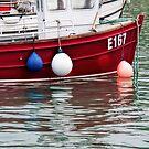 E167 At Lyme Regis Harbour by Susie Peek