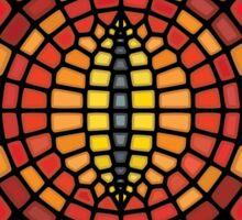 Eye of Sauron II Voronoi Sticker