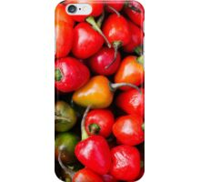 Plump Cherry Peppers iPhone Case/Skin