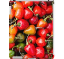 Plump Cherry Peppers iPad Case/Skin