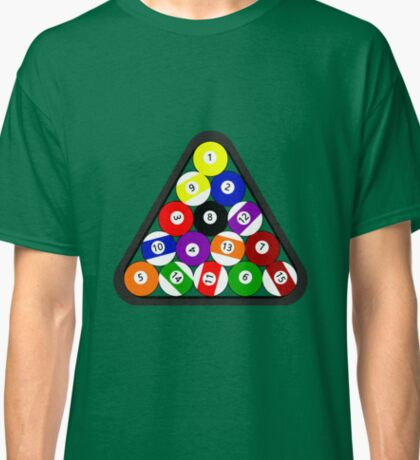8-ball Pool ball Classic T-Shirt