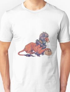 A lion and his ball T-Shirt