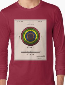 Phonograph Record Patent Long Sleeve T-Shirt