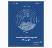 Phonograph Record Patent - Blueprint Kids Tee