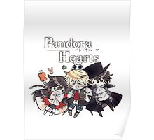 The Chibi Trio (Pandora Hearts) Poster