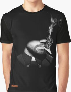 Jesse Custer The Preacher Graphic T-Shirt