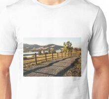 Red Hawk Park Morning Unisex T-Shirt
