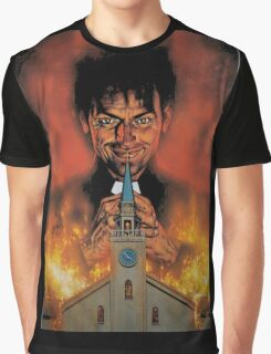The Preacher Comic Book Graphic T-Shirt
