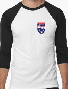 Ross County Badge - Scottish Premier League Men's Baseball ¾ T-Shirt