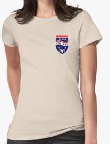 Ross County Badge - Scottish Premier League Womens Fitted T-Shirt